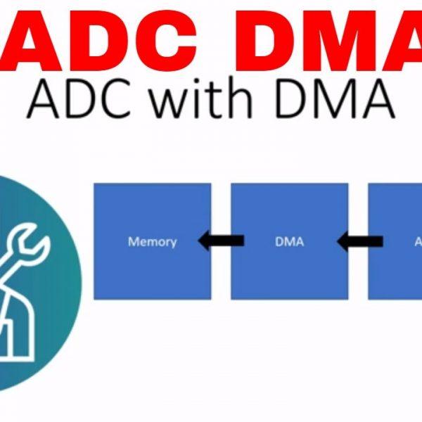 [Bonjour STM32] No.8-demo 5.ADC-DMA采样